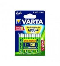VARTA NiMH Battery AA Pk 4