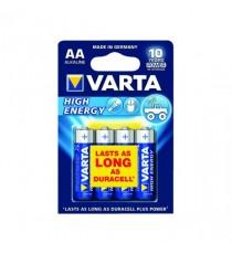 VARTA High Energy Battery AA Pk 4