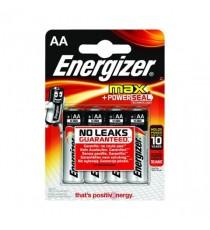 Energizer MAX E92 AA Battery Pk 4