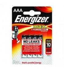 Energizer MAX E92 AAA Battery Pk 4