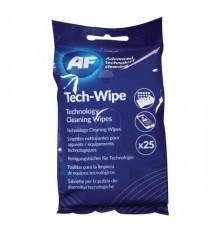 AF Mobile Technology 25 Wipes Flat Pack