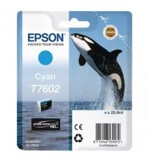 Epson Ink Cartridge Cyan T7602