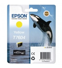 Epson Ink Cartridge Yellow T7604
