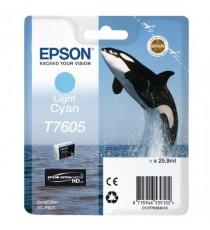 Epson Ink Cartridge Light Cyan T7605