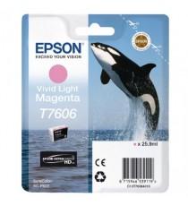 Epson Ink Cart Vivid Lt Magenta T7606