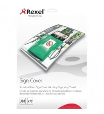 Rexel Standard Matt Sign Cover A4