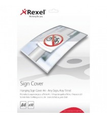 Rexel Hanging Sign Cover A4