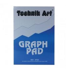 Technik Art Graph Pad 5mm Quad A4 XPG6