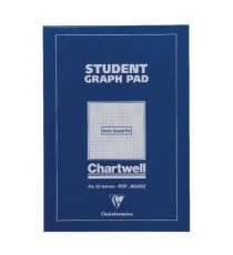 Chartwell Graph Pad A4 5mm Quad J6Q4B