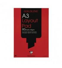 Goldline Layout Pad A3 GPL1A3