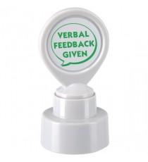 Colop Green Motiv VERB FEEDBACK Stamp