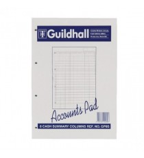 Guildhall Acc Pad Summary A4 GP8S