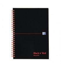 Black n Red Recy Wiro NoteBk A5