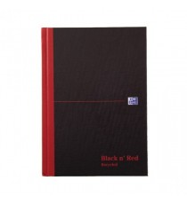 Blk n Red A5 Book Recycl 100080430