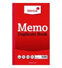 Silvine Dup Book 8.25x5 Memo 601