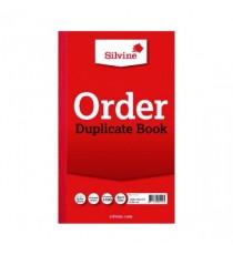 Silvine Dup Book 8.25x5 Order 610