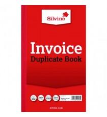 Silvine Dup Book 8.3x5 Invoice 611