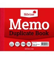 Silvine Dup Book 4x5 Memo 603