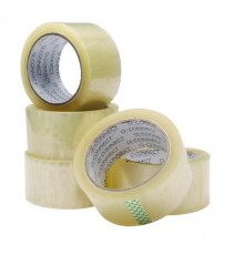 Q-Connect 50mmx66m Clr Packing Tape Pk6