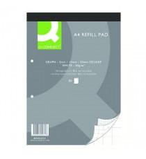 Q-Connect Refill A4 Pad Graph 80 Pk10