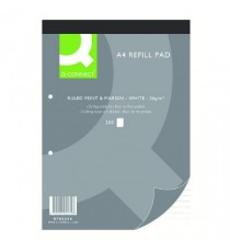 Q-Connect Ruled Refill Pad 200pg Pk5
