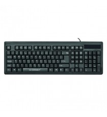 Q-Connect Black Wired Keyboard