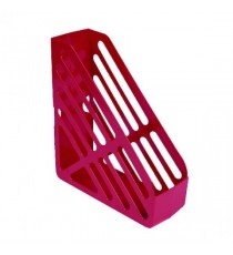 Q-Connect Red Magazine Rack