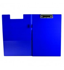 Q-Connect PVC Fold ClipboardFs Blu