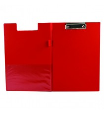 Q-Connect PVC Fold Clipboard Fs Red