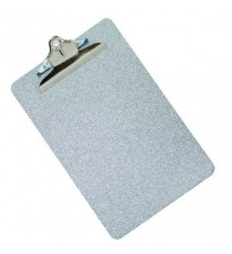 Q-Connect Metal Clipboard Grey