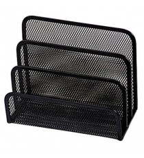Q-Connect Black Mesh Letter Sorter