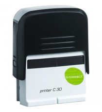 Q-Connect Voucher/Self-Ink Stamp 45x15mm