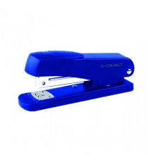 Q-Connect Half Strip Blue Metal Stapler