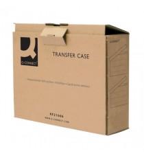 Q-Connect Brown Transfer Case Pk20