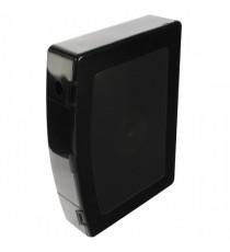 Q-Connect PolyBox File Foolscap Black