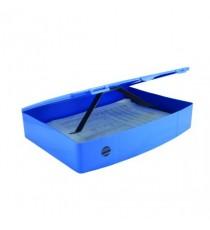 Q-Connect PolyBox File Foolscap Blue