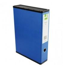 Q-Connect 75mm Box File FC Blue Pk5