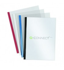 Q-Connect A4 Black 5mm Slde Binder/Cover