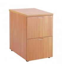 FF Jemini Beech 2 Drw Filing Cabinet