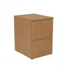 FF Jemini Oak 2 Drw Filing Cabinet