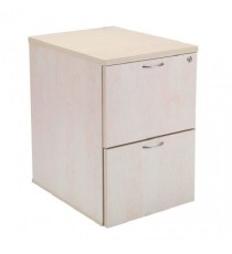 FF Jemini Maple 2 Drw Filing Cabinet