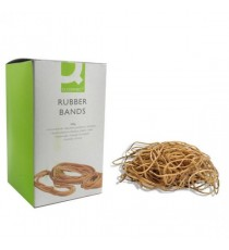Q-Connect No.75 Rubber Bands 500g Pack