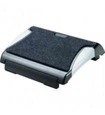 Q-Connect Carpet Black/Silver Foot Rest