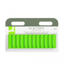 Q-Connect AA Batteries - Pk12
