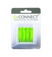 Q-Connect AAA Batteries - Pk4
