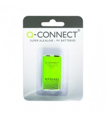Q-Connect 9V Alkaline Battery