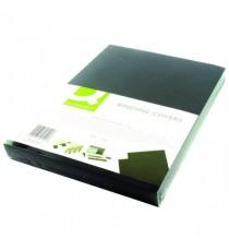 Q-Connect Black A4 Binding Covers Pk100
