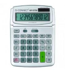 Q-Connect Grey Large 12 Digit Calculator