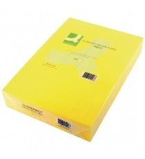 Q-Connect A4 Br/Yellow Colour Paper Ream