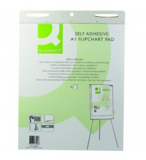Q-Connect Self-Adh A1 Flipchart Pad Pk2